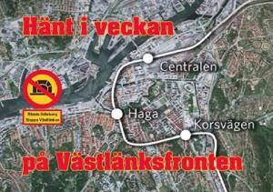 Hänt i veckan vecka 19 - Moderaterna, Sveriges infrastrukturminister och Trädplan