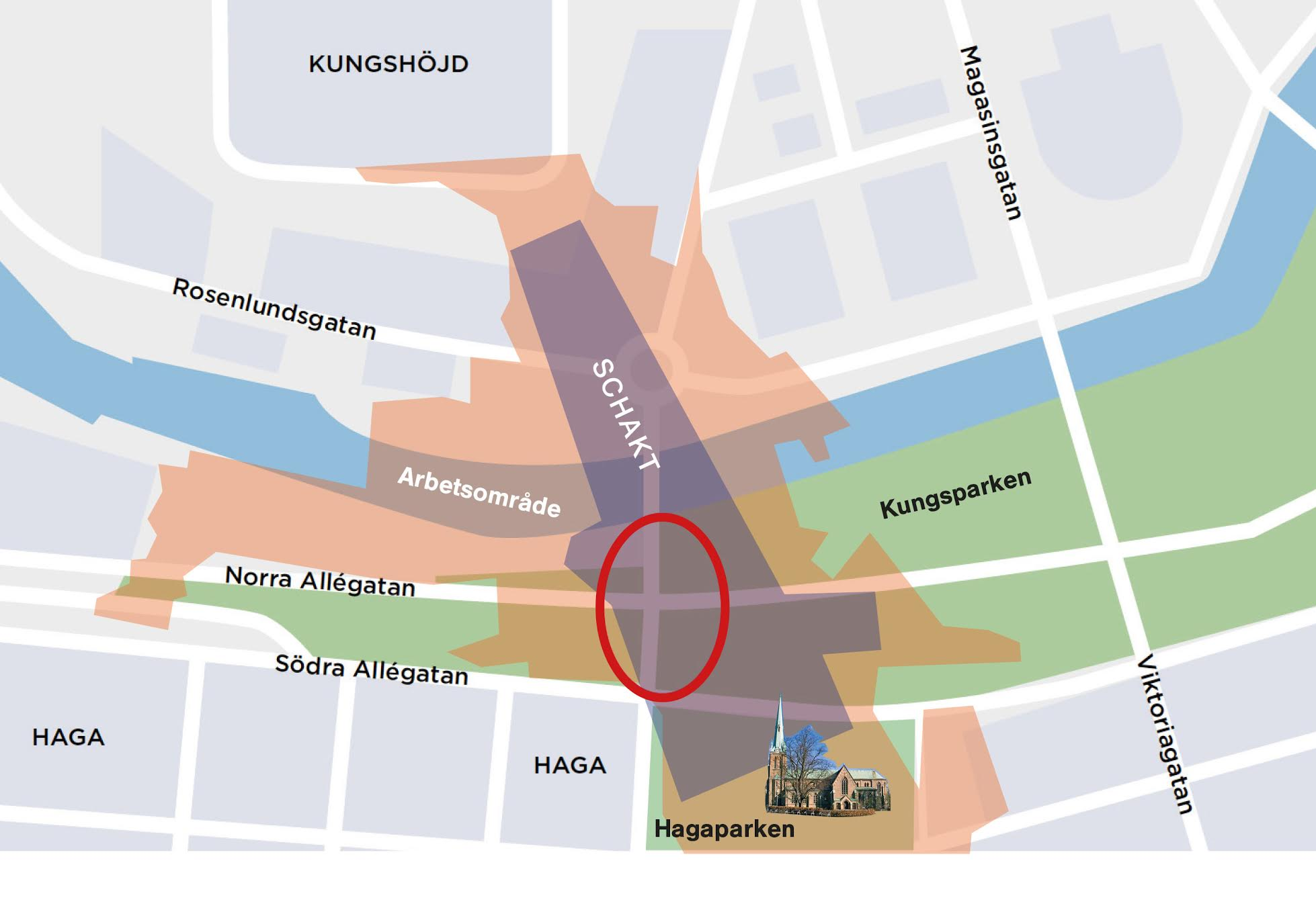 karta haga göteborg karta   trädpåverkan Haga Station   verison 2   Stoppa Västlänken Nu karta haga göteborg